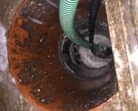 Lokalisatie van een septische put in Zottegem